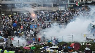 I Was Caught Up In Hong Kong Protests Tear Gas - Truthloader