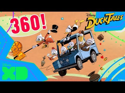 DuckTales | 360 Video | The Lost Key of Tralla La | Official Disney XD Africa