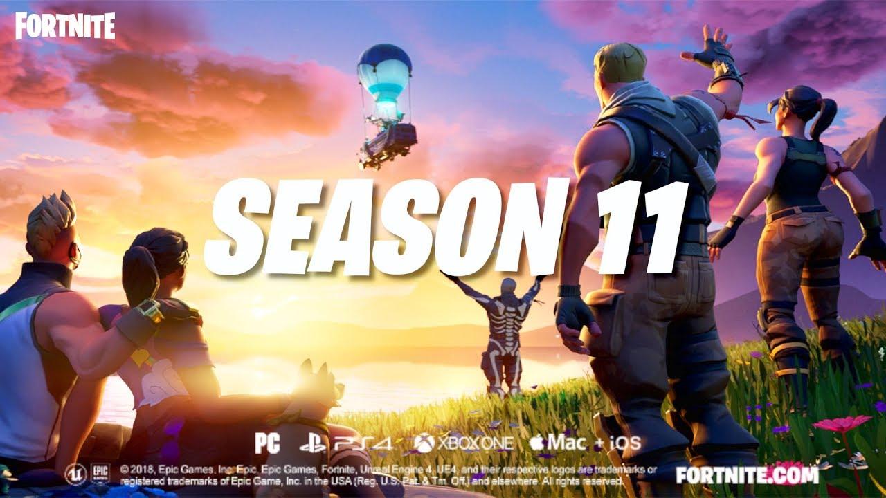 Fortnite Season 11 New Map Reveal Hd