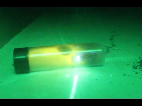 Getting Gunpowder To Burn In A Vacuum