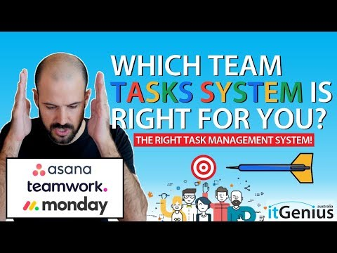 Asana Vs. Monday Vs. Teamwork... Choosing The Perfect Task Management System For Your Business