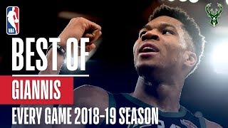 Giannis Antetokounmpo's Best Play From Every Game Of The 2018-19 Season!