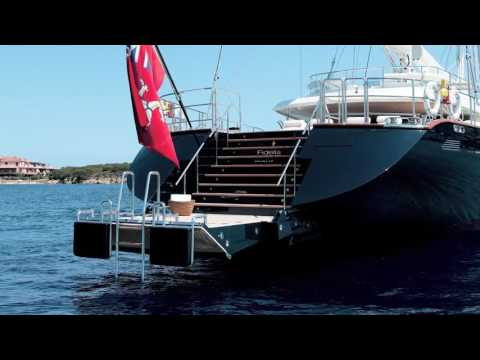 FIDELIS Yacht Video   184ft Luxury Sail Yacht for Charter