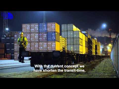 Distri Rail train - port of Rotterdam