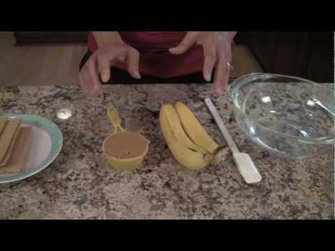Healthy Kids Snacks - Peanut Butter, Bananas, Graham Crackers By Rockin Robin