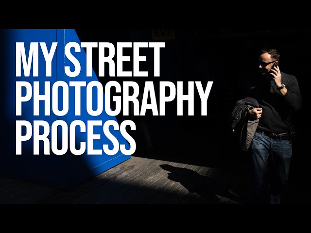 My Street Photography Process (with Contact Sheets)