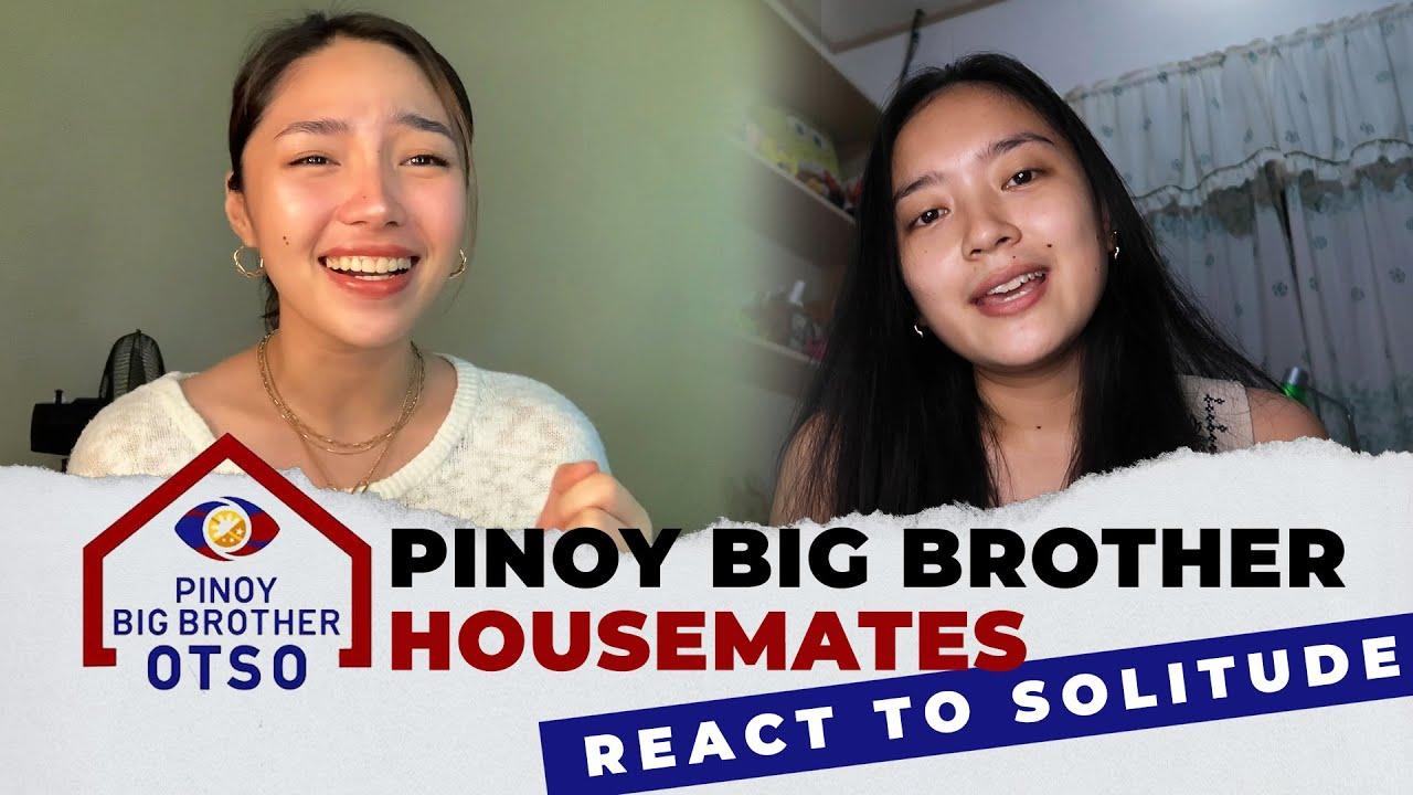 PINOY BIG BROTHER HOUSEMATES REACT TO SOLITUDE!!! 😱❤️   Thea Rizaldo, Missy Quiño