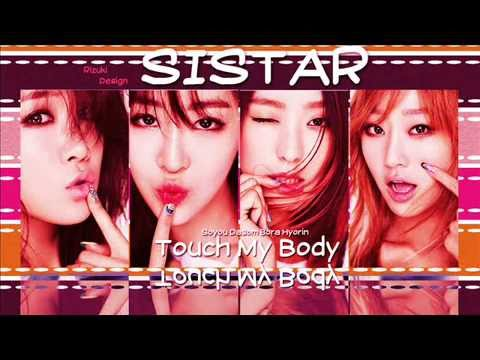 SISTAR - Touch My Body Acoustic Ver. [MP3/AUDIO]