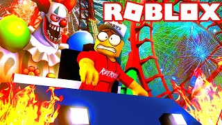 UTEČTE Z KARNEVALU HRŮZY 🤡 - Roblox Escape The Carnival of Terror Obby!