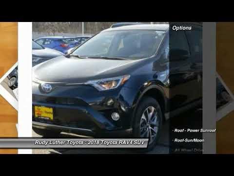 2018 Toyota RAV4 Golden Valley,Minneapolis,Bloomington,MN 180515. Rudy  Luther Toyota