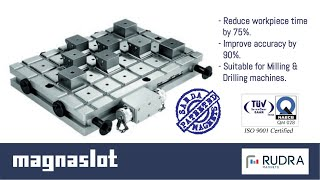 Heavy Duty Milling on a Magnaslot