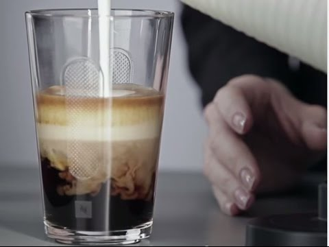 recette du caf latte par nespresso youtube. Black Bedroom Furniture Sets. Home Design Ideas