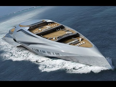 A mega yacht that would be the biggest private vessel ever built