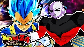 Dragon Ball Z Budokai Tenkaichi 4 - SSGSS Vegeta Vs Jiren Gameplay (Tournament of Power Episode 122)