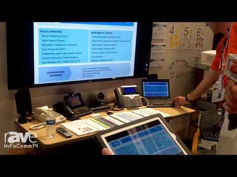 InfoComm 2014: Cisco Showcases Its Telepresence Solution With Intelligent Proximity
