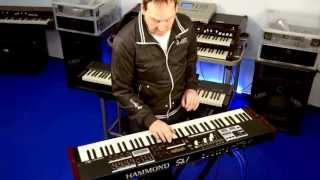 Hammond SK1-73 introduction by Michael Falkenstein, Hammond-Germany