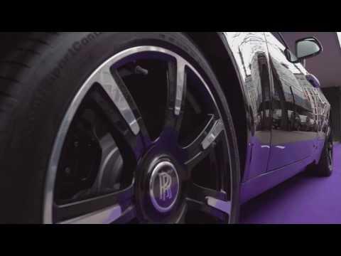 ROLLS-ROYCE PARTNERS WITH BRITISH MUSIC LEGENDS - Rolls-Royce Wraith