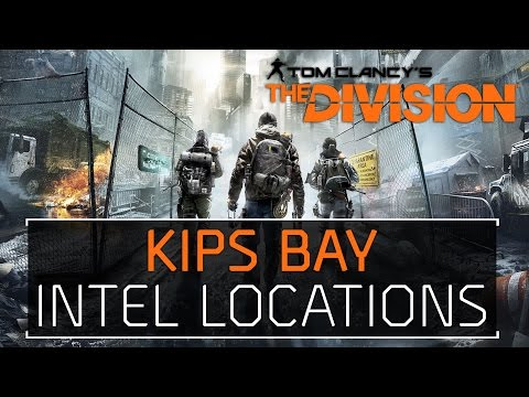 The Division • Kips Bay Intel Locations Echos, Guides, Phones, Incidents, Agents, & Drones