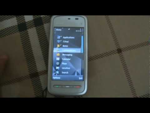 Nokia 5230 Custom Theme Effect
