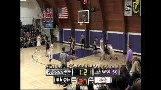 (30 Seconds) New Salem Almont vs Wilton Wing High School Boys Basketball 2015