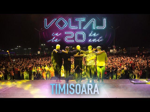 Voltaj - Ca la 20 de ani Tour @Timisoara