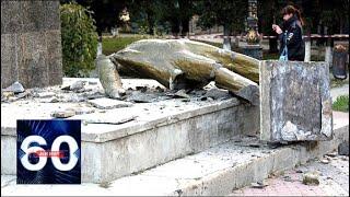 """На Украине уничтожают памятники """"позорному советскому прошлому"""". 60 минут от 23.05.19"""