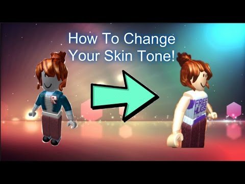 Roblox How To Change Your Skin Youtube