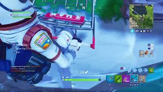 [Pre-patch] Shopping Cart Wall Ride in Fortnite