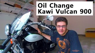 Oil Change - Kawasaki Vulcan 900 - Step-by-step Instructions