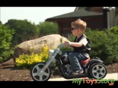 Fisher Price Power Wheels Harley Davidson Rocker Electric Bike