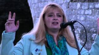 Alycia Hayes at Stirling Bridge Commemoration 2012