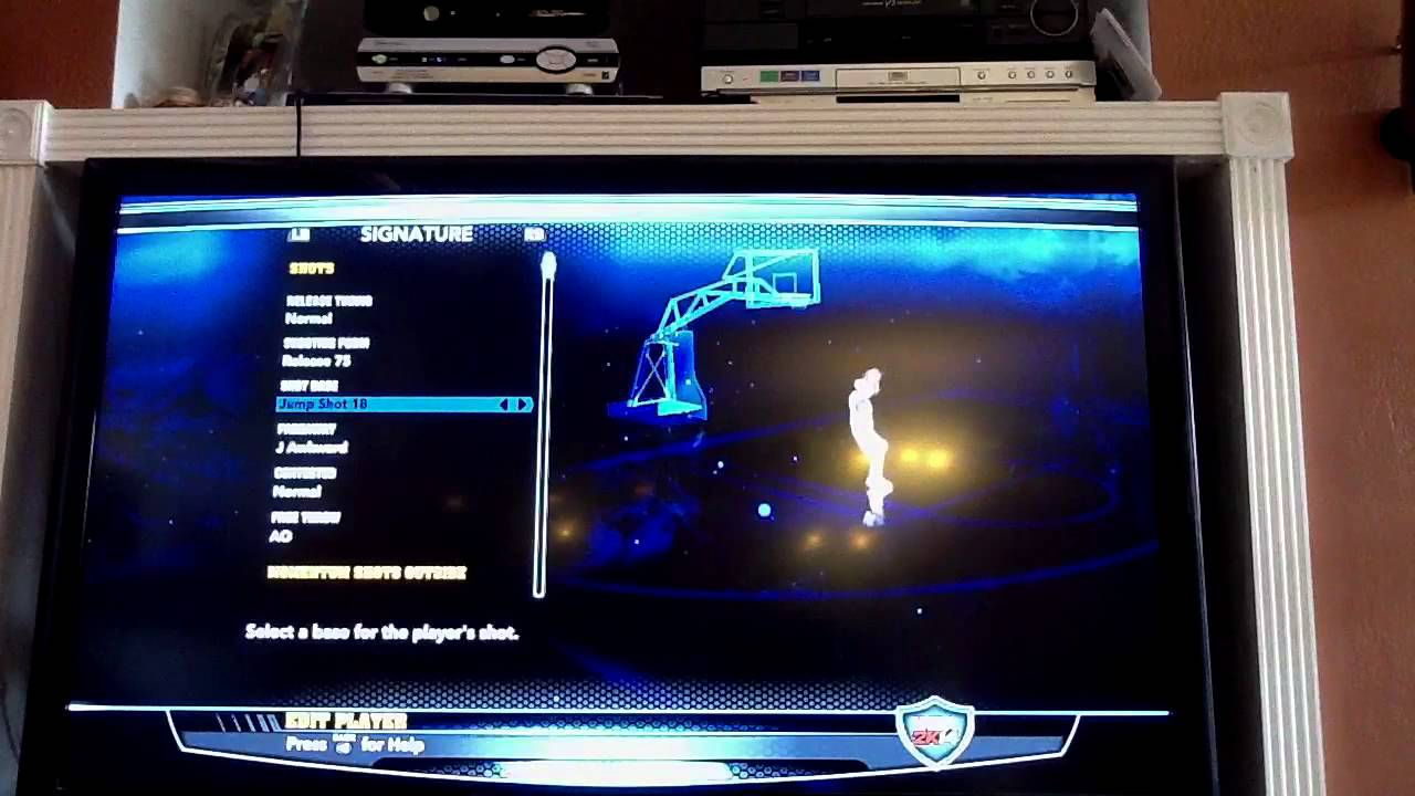 The BEST Steph Curry Shot Realease in NBA 2k14 - YouTube