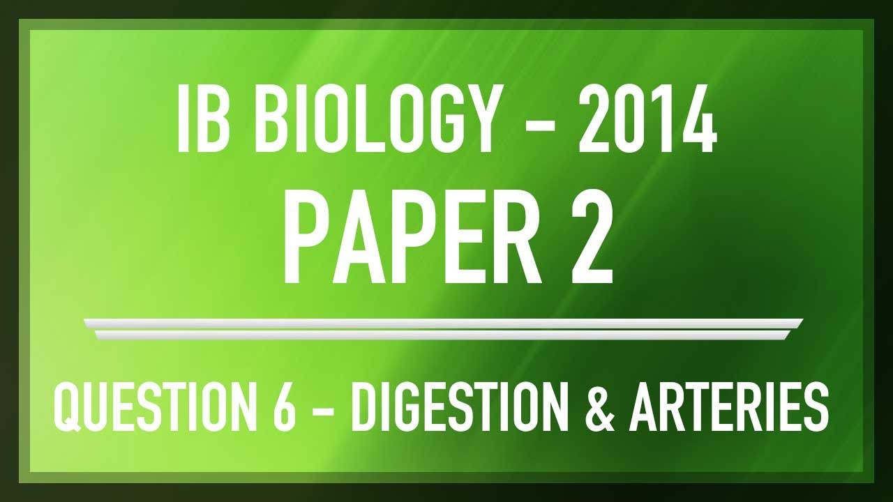 IB Biology (2016) - 1 - Digestion & Absorption (PPT)