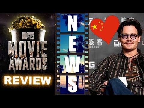 MTV Movie Awards 2014 Review, Johnny Depp's Transcendence China Adventure! - Beyond The Trailer