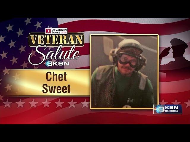 Veteran Salute: Chet Sweet