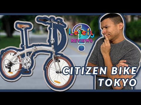 Citizen Folding Bike Tokyo Sand Color -is it for You? Full Review Video | Lejefy Reviews