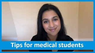 Tips for first year medical students | British Medical Association