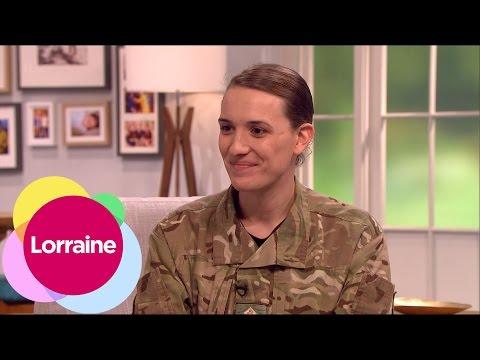 The British Army's First Transgender Officer | Lorraine