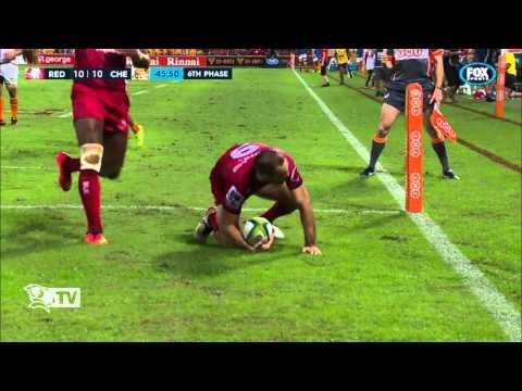St.George Queensland Reds v Cheetahs - Highlights