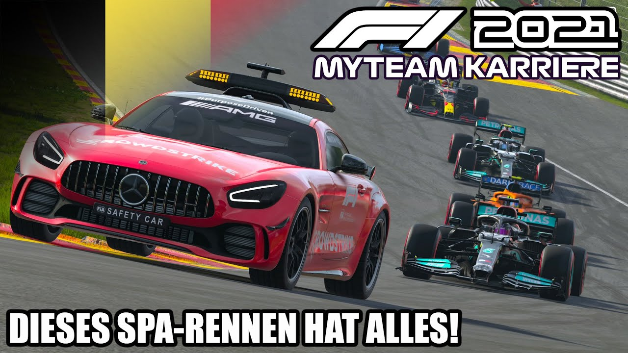 F1 2021 My Team Karriere #11: Dieses Rennen hat alles!