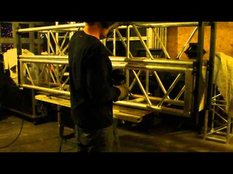 Stage Truss Aluminum Welding