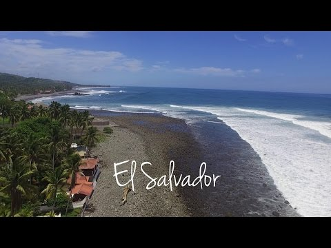 El Salvador by drone