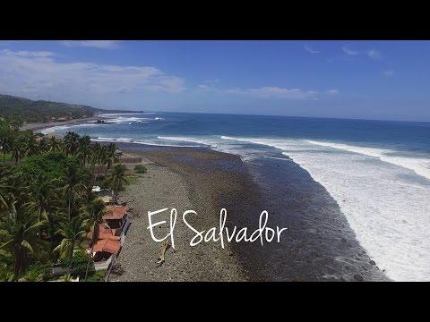 El Salvador by drone