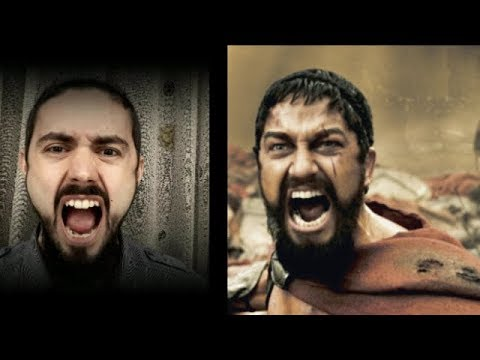King Leonidas beard | Gerard Butler's beard | Tutorial How to Trim the best beardSpartan style