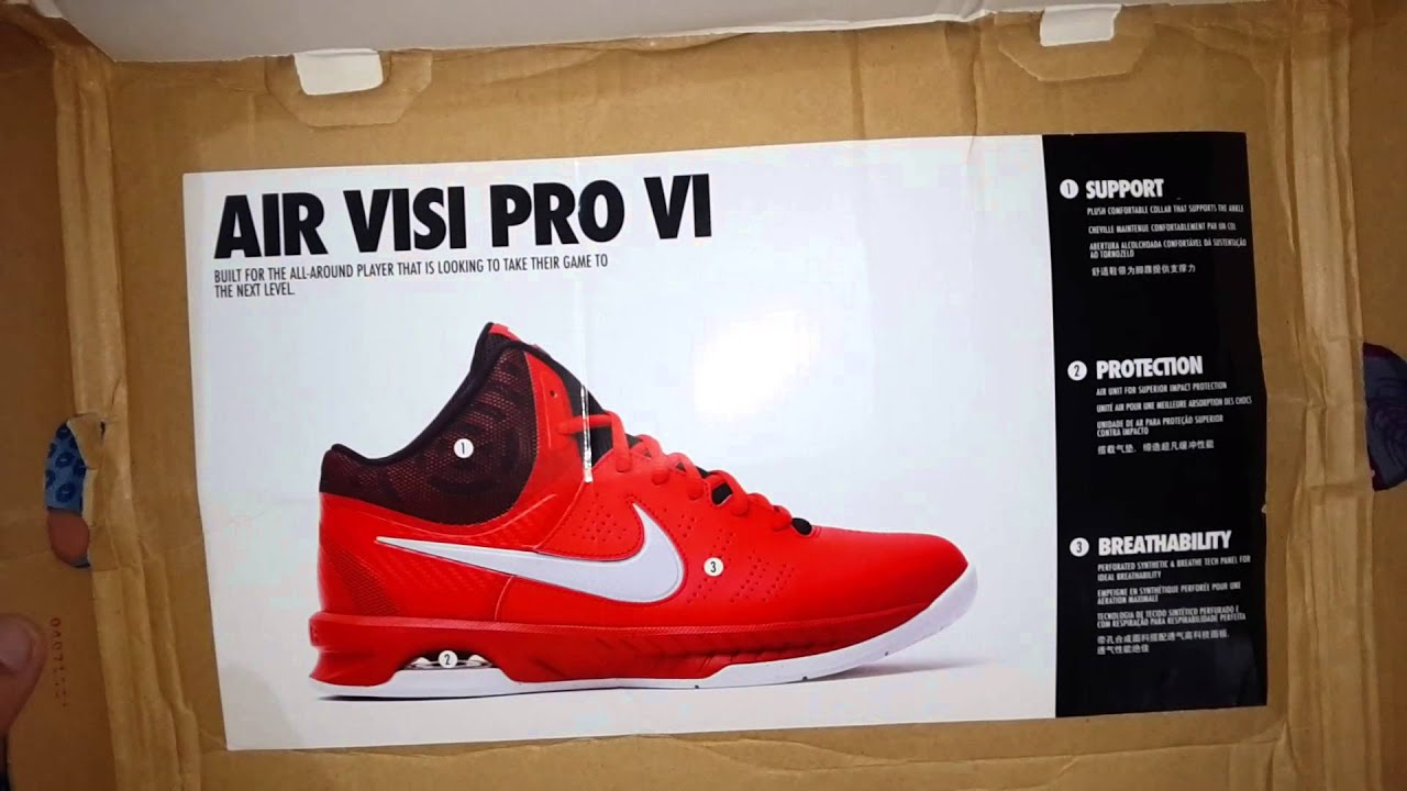 Nike Air Visi Pro vi unboxing Review