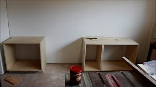 Making Base Cabinets For The Workshop And Reloading Room