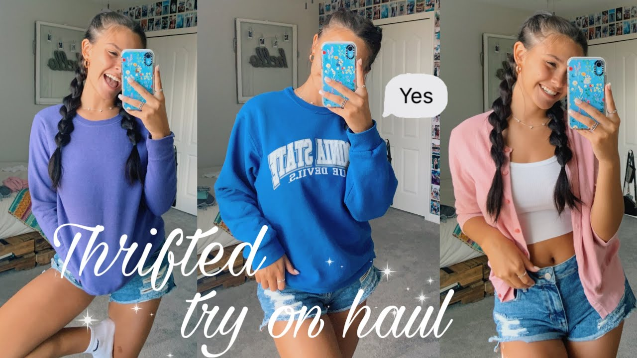 Try on THRIFT haul *thrift with me*