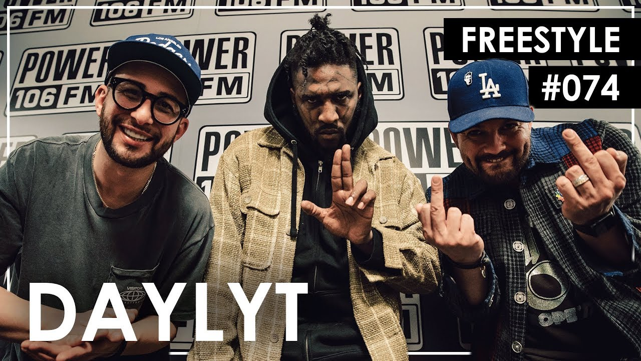 Daylyt Freestyle On Power 106 LA Leakers Show