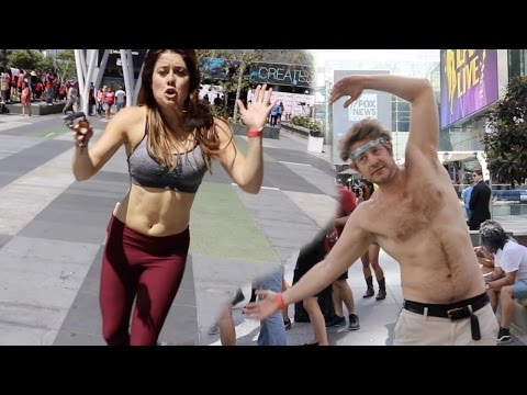 EMBARRASSING OURSELVES IN PUBLIC!!