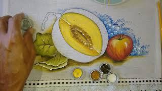Roberto Ferreira – Aprenda a Pintar Melão Verde (Parte 2)